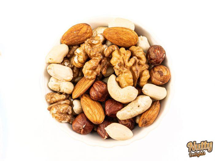 Raw Nuts Standard Mix