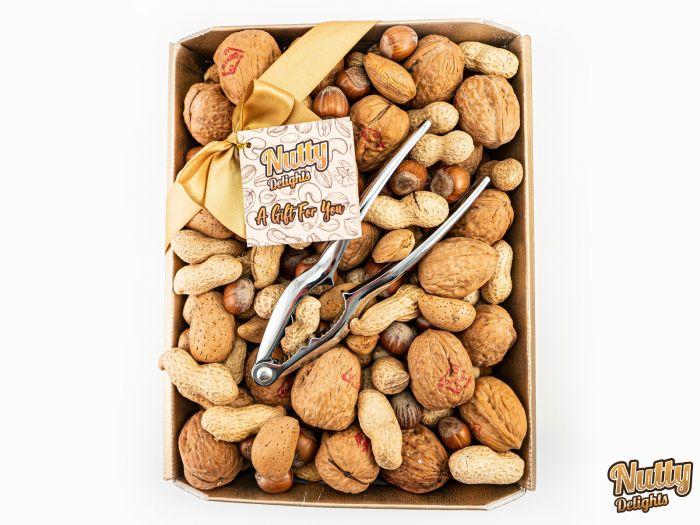Whole Nuts in Shell Tray & Nutcracker