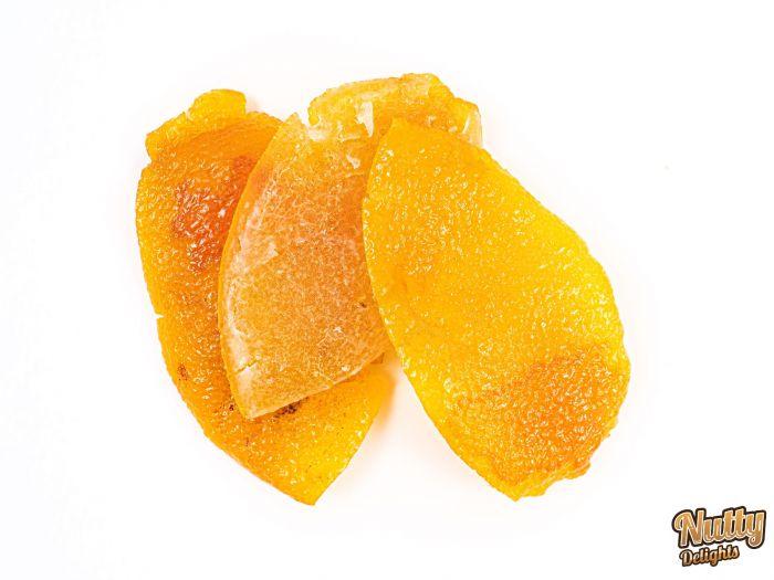 Glazed Dried Lemon Slices