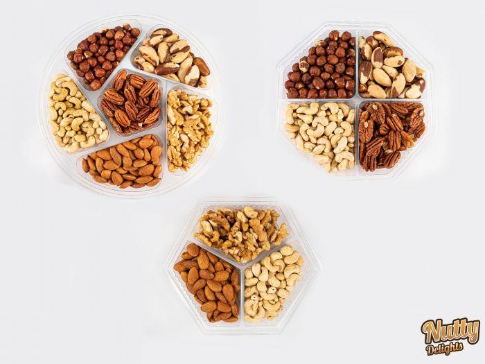 Selection Tray - Natural Raw Nuts