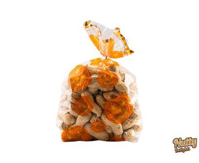 Halloween Peanuts in Shell Bag