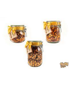 Jar of Gourmet Nuts