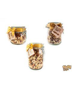 Jar of Raw Nuts