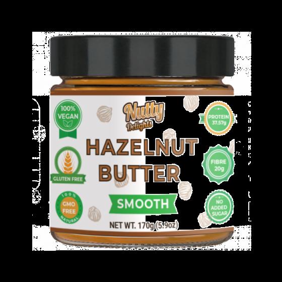 """Hazelnut """"Smooth"""" Butter"""