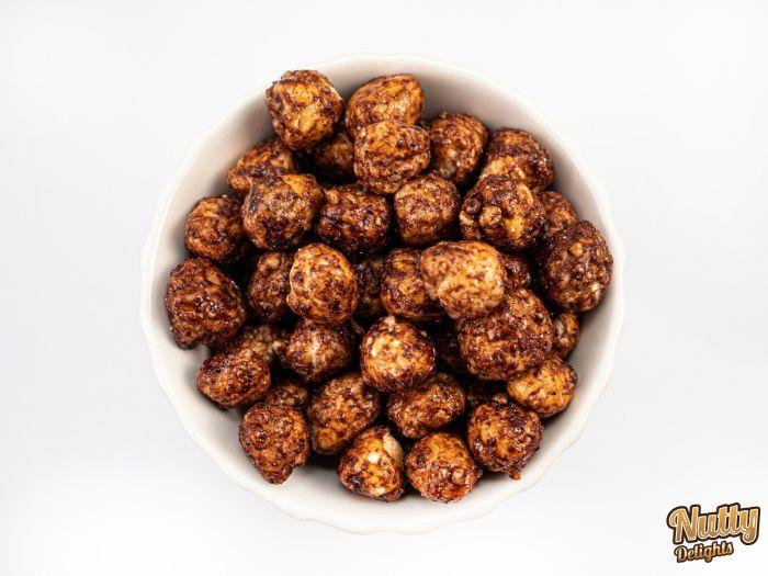 Honey Cinnamon Hazelnuts