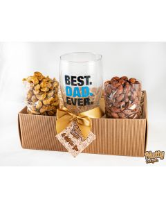 Nuts and Pint Glass Box